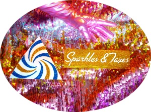 sparkles and taxes invite oval